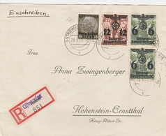 General Gouvernement Lettre Recommandée Pour L'Allemagne 1940 - General Government