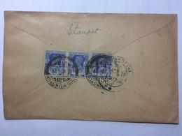 BURMA - George VI Cover Moulmeingyun To Devakottai India - Birmanie (...-1947)