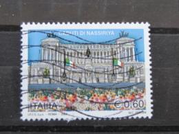 *ITALIA* USATI 2006 - OMAGGIO CADUTI NASSIRIYA - SASSONE 2937 - LUSSO/FIOR DI STAMPA - 6. 1946-.. Repubblica