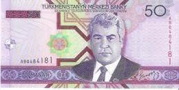 Turkmenistan - Pick 17 - 50 Manat 2005 - Unc - Turkménistan