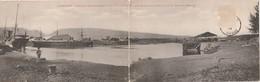 Reunion Carte Double - Le Port De La Pointe Aux Galets - Aquai Courrier Messageries Maritimes Et Un Chargeur De La Cie.. - Other