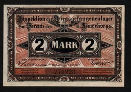 GEFANGENENLAGER GELD LAGERGELD BILLET CAMP GUBEN PRISONNIER ALLEMAGNE KG POW GUERRE 1914 1918 - [10] Emissions Militaires