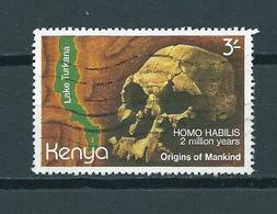 1982 Kenia Origins Of Mankind Used/gebruikt/oblitere - Kenya (1963-...)
