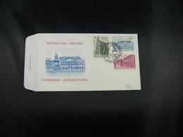 """BELG.1975 1769 & 1770 & 1771 FDC BRUGGE :  """"Patrimoine Architectural- Bouwkundig Erfgoed"""" - 1991-00"""