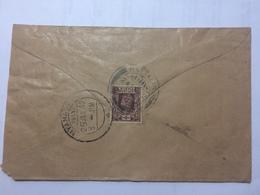BURMA - George VI Cover Nattalin To Myanagung - Birmanie (...-1947)