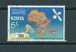 1986 Kenia Telecommunications Used/gebruikt/oblitere - Kenia (1963-...)