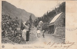 Ile De La Réunion - Village De Salazie Cliché Luda Ecrite 1907 - La Réunion
