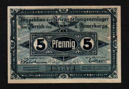 GEFANGENENLAGER GELD LAGERGELD BILLET CAMP GUBEN PRISONNIER ALLEMAGNE KG POW GUERRE 1914 1918 - [10] Militaire Uitgaven