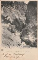 Ile De La Réunion - Cascade Au Petit Gobert - Cliche Luda Ecrite 1907 - La Réunion