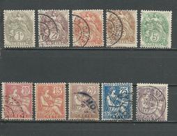 CRETE Scott 1-10 Yvert 1-10 (10) O Et * 30,00 $ 1902 - Crète (1902-1903)