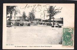 AFRIQUE - COTE D'IVOIRE - Grand Bassam - Cour Intérieure D'une Compagnie - Ivory Coast