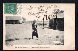 AFRIQUE - COTE D'IVOIRE - Grand Bassam - Type Krowboy, Jeune Homme - Ivory Coast