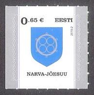 Definitive Stamp Narva - Jõesuu  Estonia 2019 MNH Stamp  Mi 944 - Francobolli