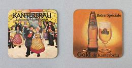 Brasserie KB Bière KANTERBRAU (Sous-bock Beer Mat Coaster Bierdeckel Bierviltje) - Beer Mats