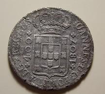 Portugal 400 Reis 1807 Silver - Portugal