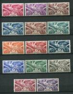 11065 Grande Série Coloniale :  Anniversaire De La Victoire 1946 **/*     TB/TTB - France (ex-colonies & Protectorats)