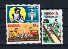 Nigeria 1979 Kinder Mi.Nr. 359/61 Kpl. Satz ** - Nigeria (1961-...)