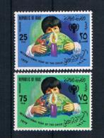 Irak 1979 Kinder Mi.Nr. 1008/09 Kpl. Satz ** - Irak