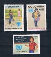 Kolumbien 1979 Kinder Mi.Nr. 1390/92 Kpl. Satz ** - Kolumbien