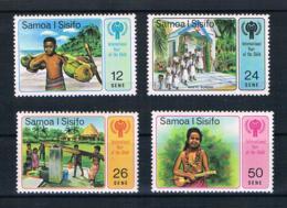 Samoa 1979 Kinder Mi.Nr. 399/402 Kpl. Satz ** - Samoa (Staat)