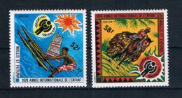 Wallis Und Futuna 1979 Kinder Mi.Nr. 337/38 Kpl. Satz ** - Wallis Und Futuna