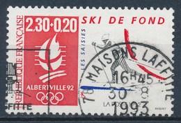 France - J.O D'Hiver Albertville 92 - Ski De Fond YT 2678 Obl. - France