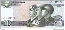 North Korea - Pick 59 - 10 Won 2002 - 2009 - Unc - Corea Del Norte