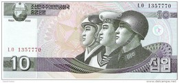 North Korea - Pick 59 - 10 Won 2002 - 2009 - Unc - Corea Del Nord