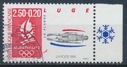 France - J.O D'Hiver Albertville 92 - Luge YT 2679a Obl. (issu Du Bloc N°14) - France