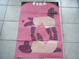 AFFICHE CYRK Signé D.ZUKOWSKA ANNEE 1970 ORIGINALE - Affiches