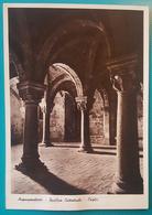 Cartolina Acquapendente (Viterbo) - Basilica Cattedrale - Cripta. Viaggiata 1937 - Viterbo
