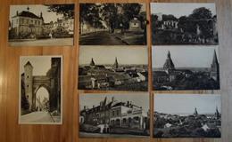 58 : La Charité-sur-Loire - 8 CPA - Bureau De Poste - Promenade Des Anglais - Mairie ... (n°14149) - La Charité Sur Loire