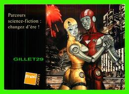 ADVERTISING - PUBLICITÉ - UNE SÉLECTION DE BD ET ROMANS SF - SCIENCE-FICTION CHANGEZ  - ILLUSTRATION DE FRED BELTRAN - - Publicité