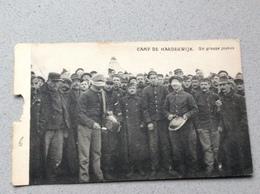 Harderwijk Camp Un Groupe De Joyeux - Oorlog 1914-18