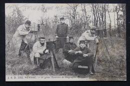 MILITARIA - Carte Postale - Nersac - 8 ème Génie , Exercice De Télégraphie Optique En 1917 - L 21832 - Guerre 1914-18