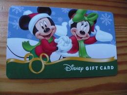 Disney Gift Card USA - Christmas - Cartes Cadeaux