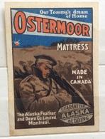 OSTERMOOR MATTRESS  MEDE IN CANADA  ALASKA BEDDING  ERINNOFILO  ETICHETTA PUBBLICITARIA - Altri