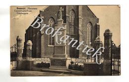 Bossuyt/Bossuit, Monument Commémoratif Aux Combattants - Avelgem