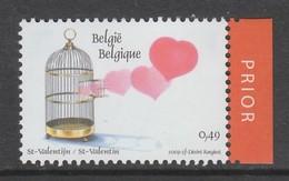 TIMBRE NEUF DE BELGIQUE - COUP DE COEUR POUR LA SAINT-VALENTIN N° Y&T 3148 - Celebrations