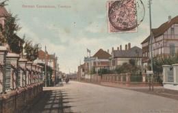 Chine - German Consession , Tientsin - Carte écrite Et Voyagée 1909 - Chine