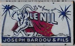 """Papier à Cigarettes """"LE NIL"""" N°33 Joseoh Bardou & Fils 'Je Ne Fume Que Le Nil""""(échantillon Gratuit) Illust.Cappiello BE - Tabac (objets Liés)"""
