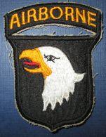 """Patch US WW2 """"101st Airborne"""" - 1939-45"""