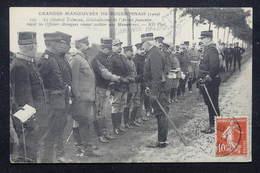 MILITARIA - Carte Postale - Grandes Manœuvres De 1909 ,Général Trémeau Recevant Des Officiers étrangers - L 21837 - Manovre