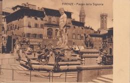 FIRENZE PIAZZA DELLA SIGNORIA   AUTENTICA 100% - Firenze