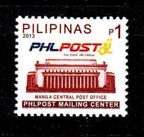 Filippine Philippine Philippinen Pilipinas 2013 Philpost Definitives, 1p Singles - MNH** (see Photo) - Filippine