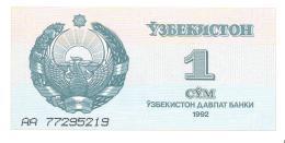 Uzbekistan - Pick 61 - 1 Sum 1992 - Unc - Uzbekistan