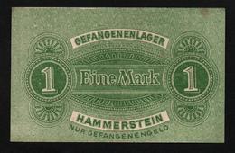 GEFANGENENLAGER GELD LAGERGELD BILLET CAMP HAMMERSTEIN PRISONNIER ALLEMAGNE KG POW GUERRE 1914 1918 - [10] Emissions Militaires