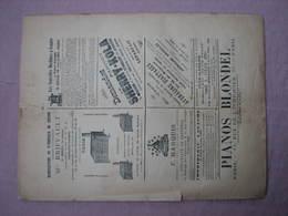 Coopération Libre Des Armées De Terre Et Mer Dec. 1893 66 Pages 135X310 BE - Catalogues