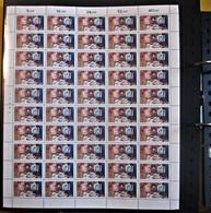 Briefmarken BRD Bogen 1982 Michel 1154 Zusammendruck Mit Bogenrandnummer - BRD