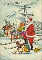 JOYEUX NOEL  JOUETS ET HELICOPTERE - Noël